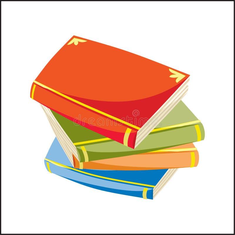 Karikatur-Bücher vektor abbildung