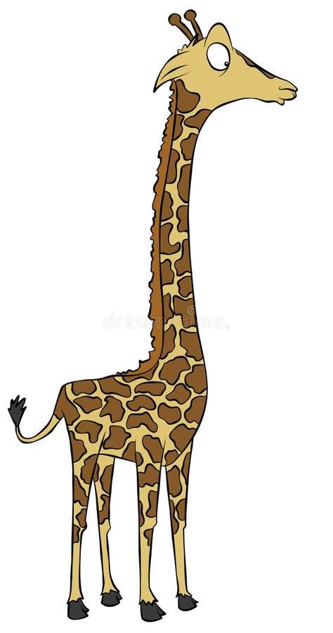 Karikatur-Giraffe Lizenzfreie Stockfotografie