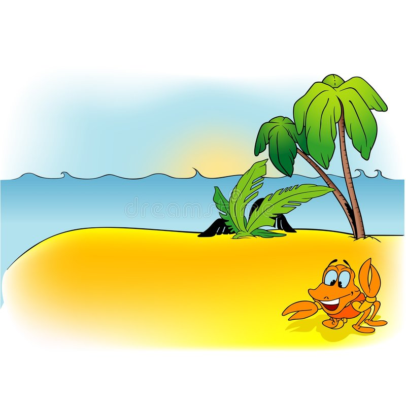 Karikatur-Hintergrund 10 stock abbildung