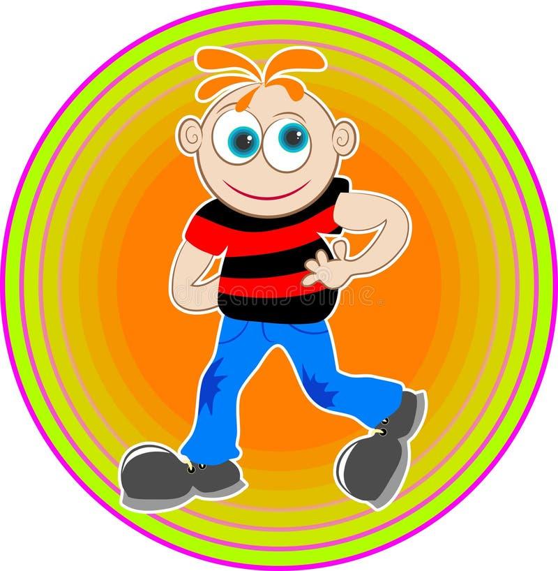 Download Karikatur-Junge vektor abbildung. Illustration von graphiken - 44773