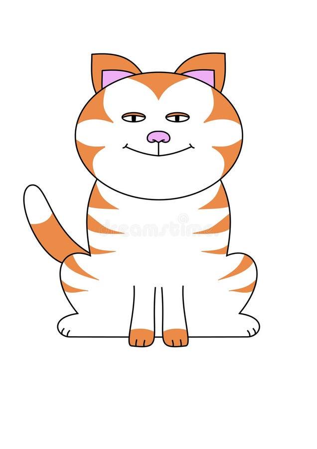 Karikatur Katze
