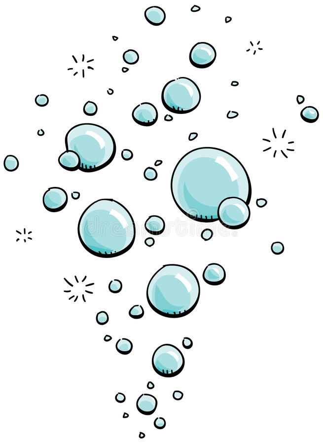 Karikatur-Luftblasen lizenzfreie abbildung