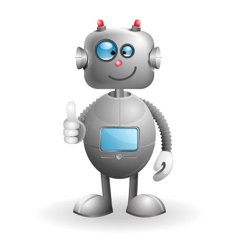 Karikatur-Roboter vektor abbildung