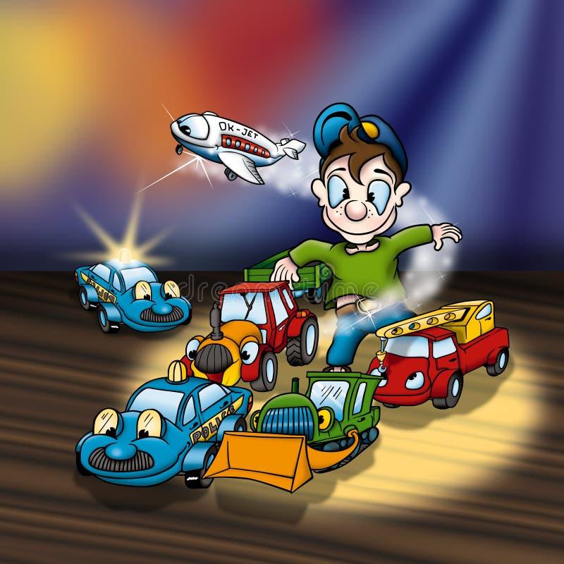 Karikatur-Spielwaren vektor abbildung