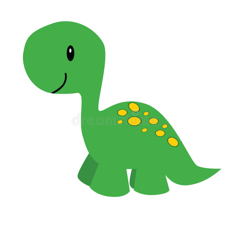 Karikaturdinosaurier vektor abbildung
