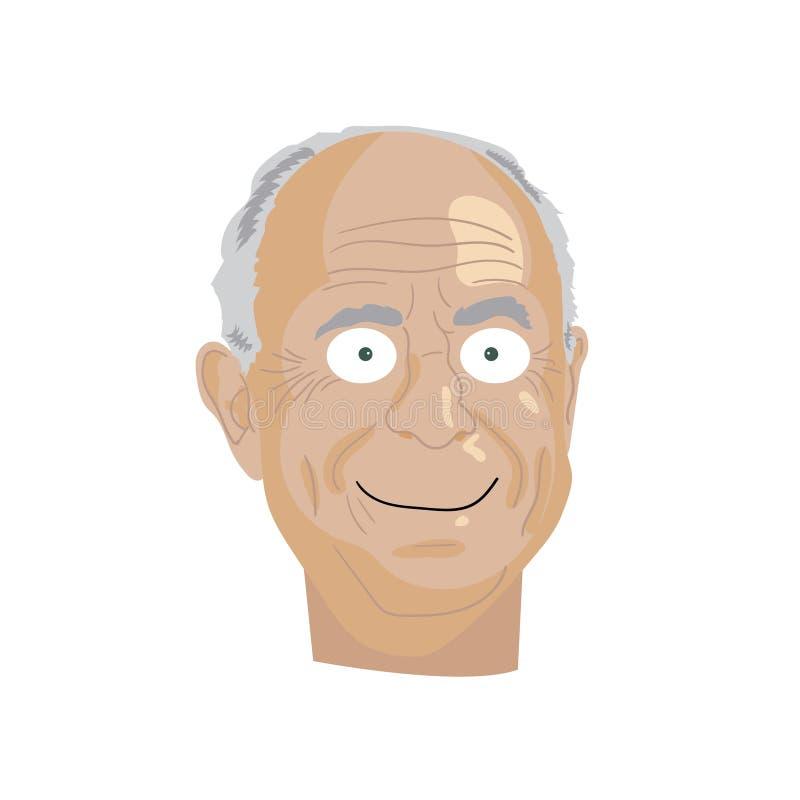 Karikatyrteckningsillustration Teckenstående av Rudolph Giuliani vektor illustrationer