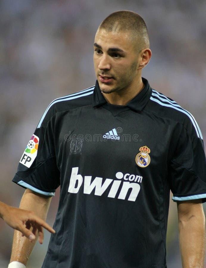Karim Benzema lizenzfreie stockfotos