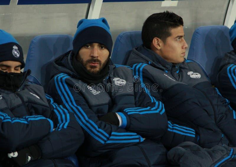 Karim Benzema stockbild