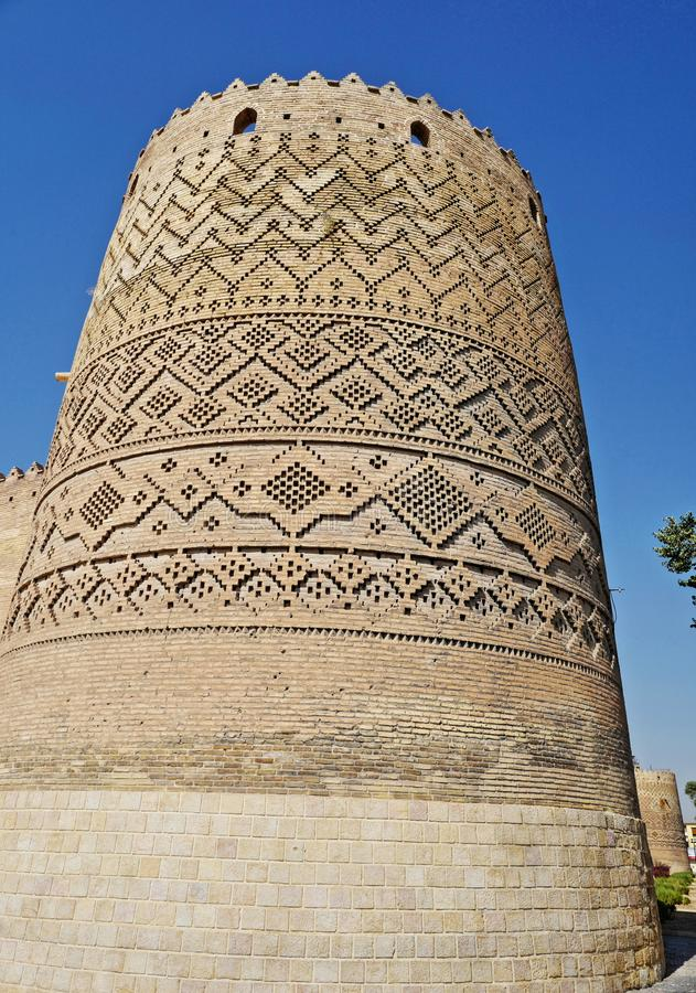 The Karim Khan Castle, Iran stock photography