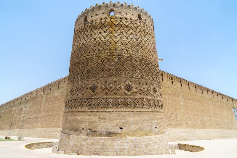 Karim Khan Castle in Shiraz royalty free stock photography
