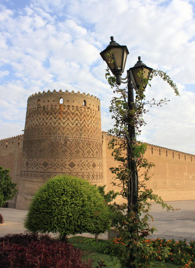 The Karim Khan Castle in Shiraz city, Iran. stock photography