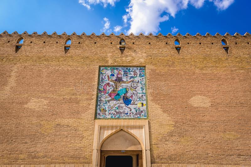 Karim Khan Castle stock images