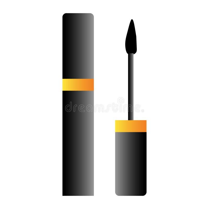 karkas voor wimperspictogram Element van het pictogram van de schoonheidszaal voor mobiel concept en Web apps Gedetailleerd karka vector illustratie