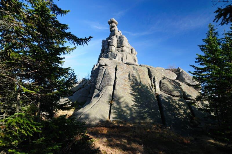karkonosze góry Poland fotografia stock