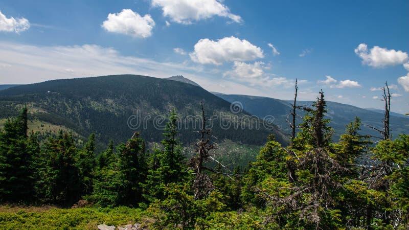 Karkonosze Mountain View stock photos