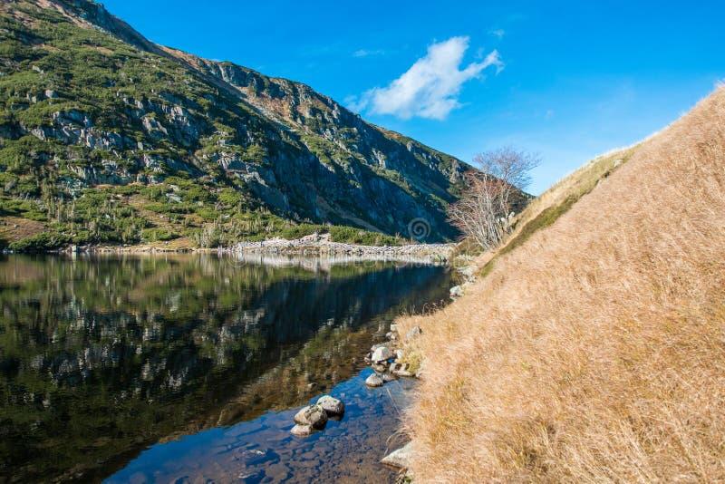 Karkonosze Samotnia - montañas polacas fotos de archivo