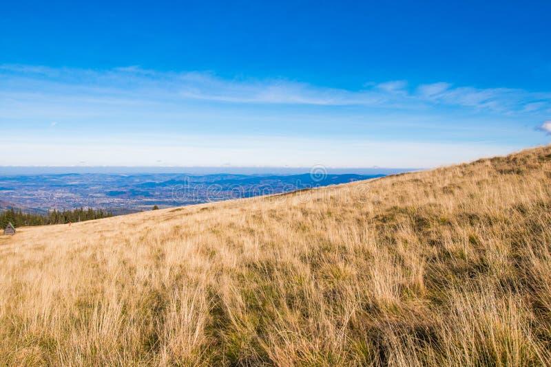 Karkonosze Samotnia - montañas polacas fotos de archivo libres de regalías