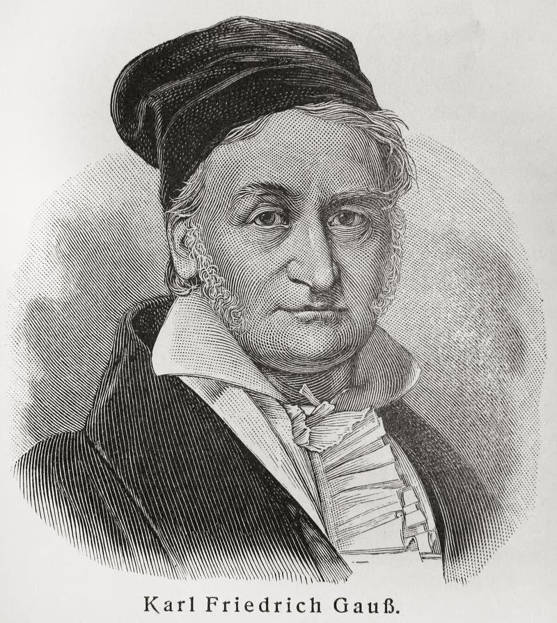 Karl-Gauß stockbild
