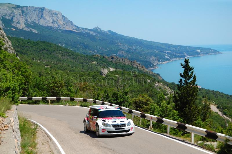 Download Karl Kruuda On IRC Event Yalta Rally 2011 Editorial Stock Image - Image of blue, road: 19798354