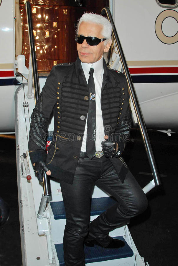 Karl Lagerfeld royalty free stock photography