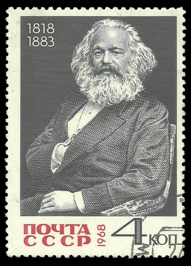 Karl Marx imagens de stock