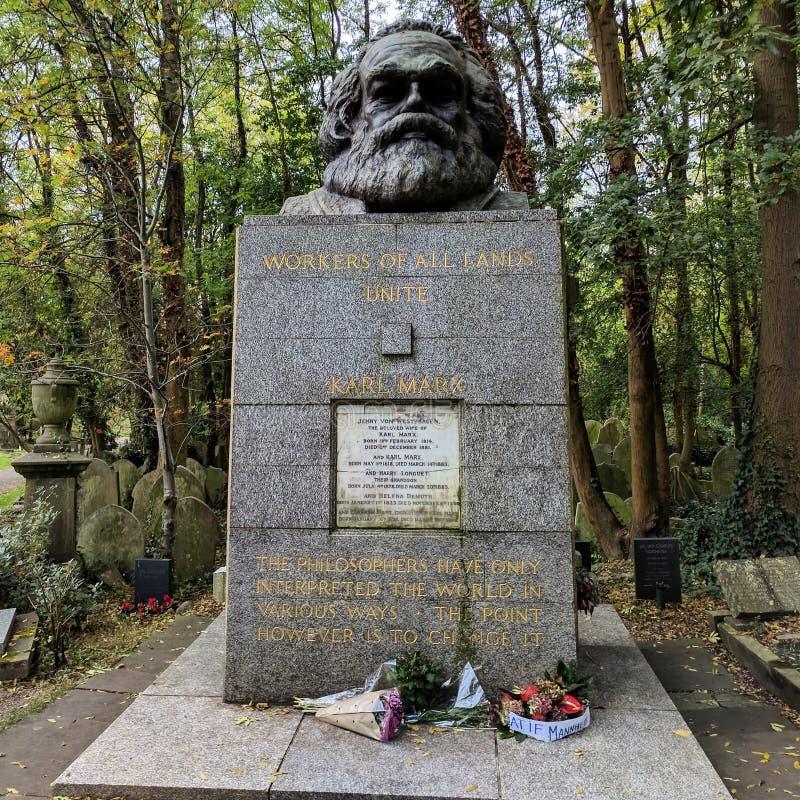 Karl Marx royalty-vrije stock afbeelding