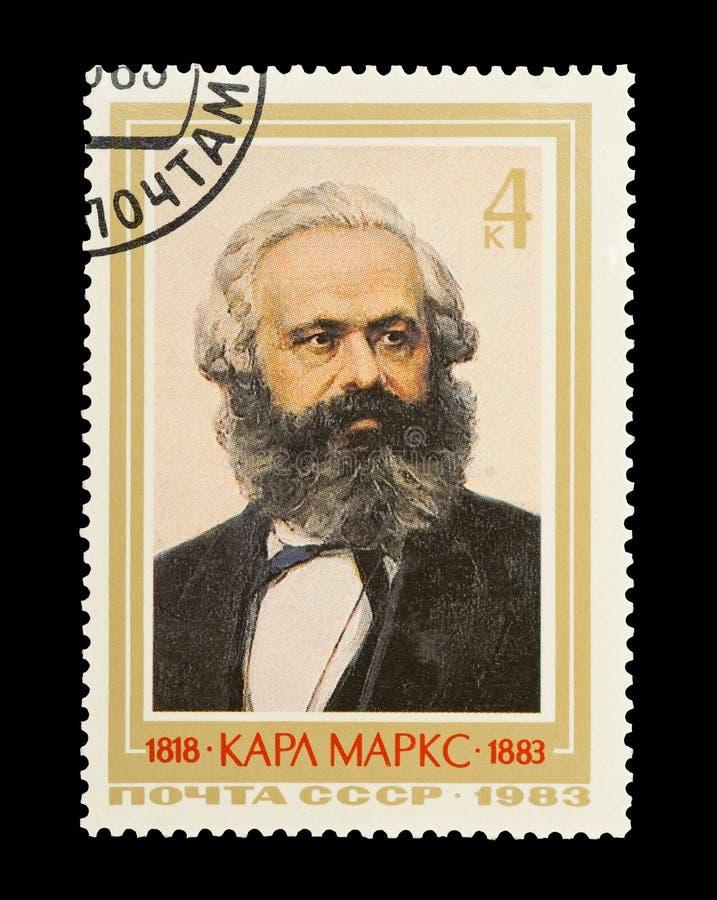 Karl Marx royaltyfri fotografi