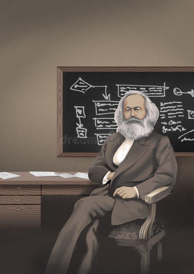 Karl Marx image stock