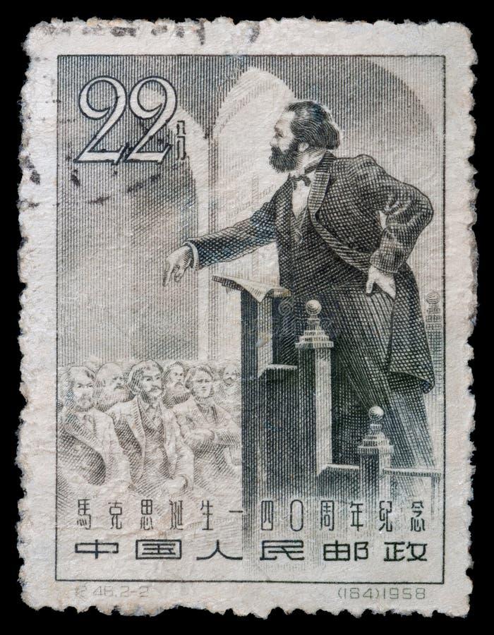 Karl Marx arkivbild