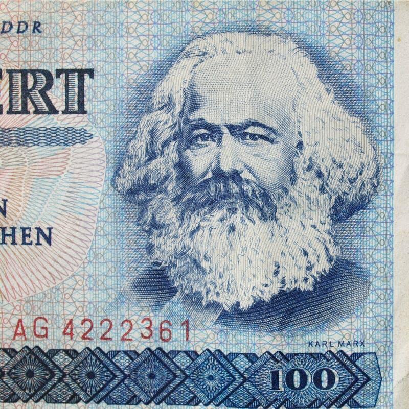Karl Marx illustration stock