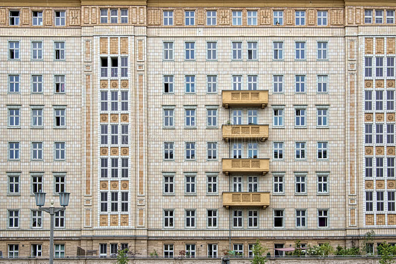 Karl Marx Allee Berlin, Tyskland royaltyfri fotografi