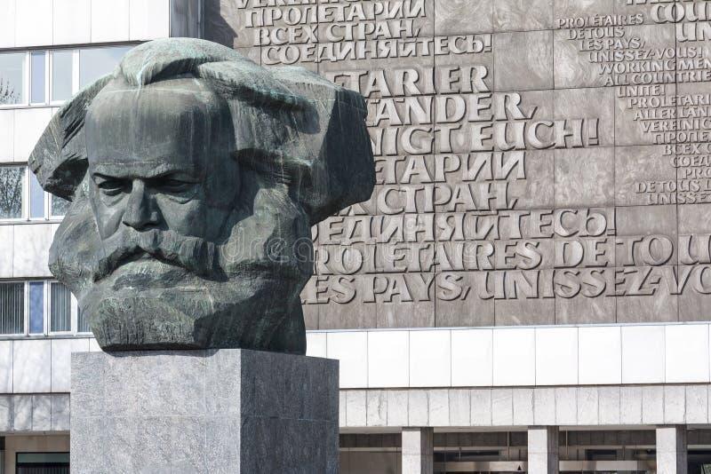 Karl Marx - Nischelen arkivbild