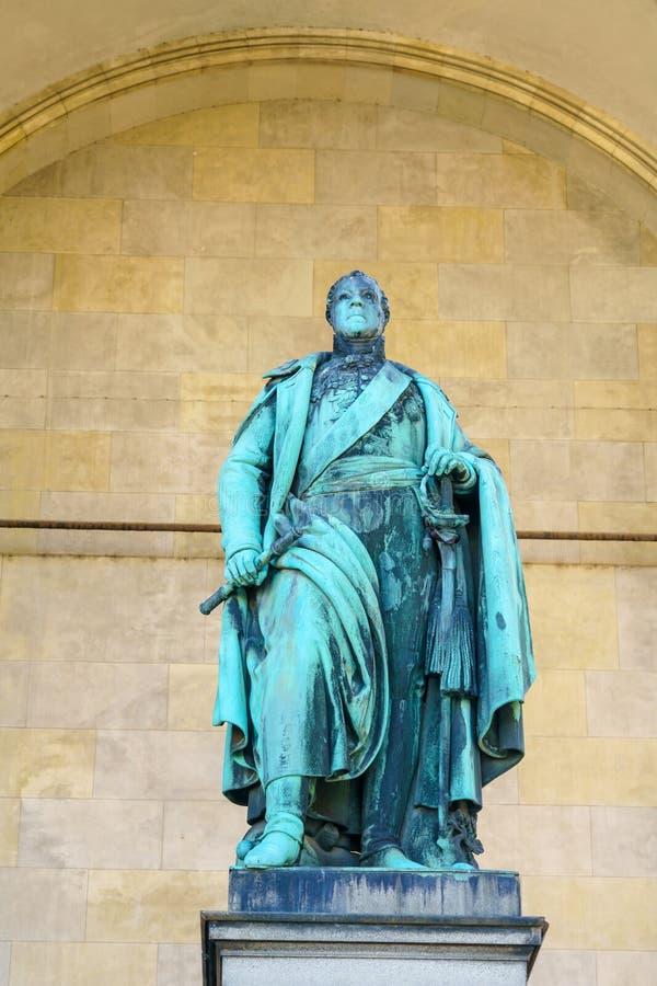 Karl Philipp von Wrede-Statue 1844 in Feld-Marschälle ` Hall an stockfotografie