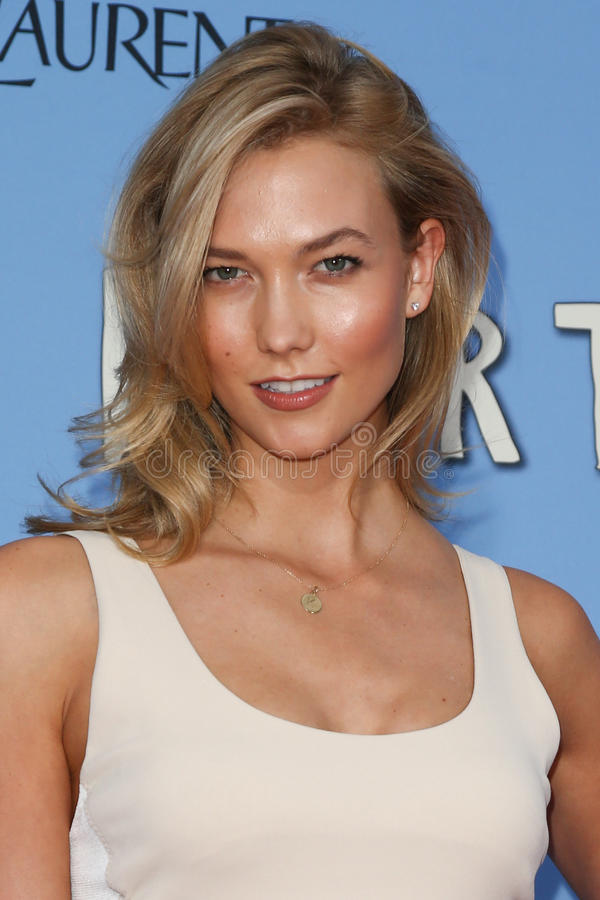 Karlie Kloss stock photo
