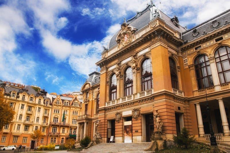 Karlovy меняет имперский курорт i стоковая фотография rf