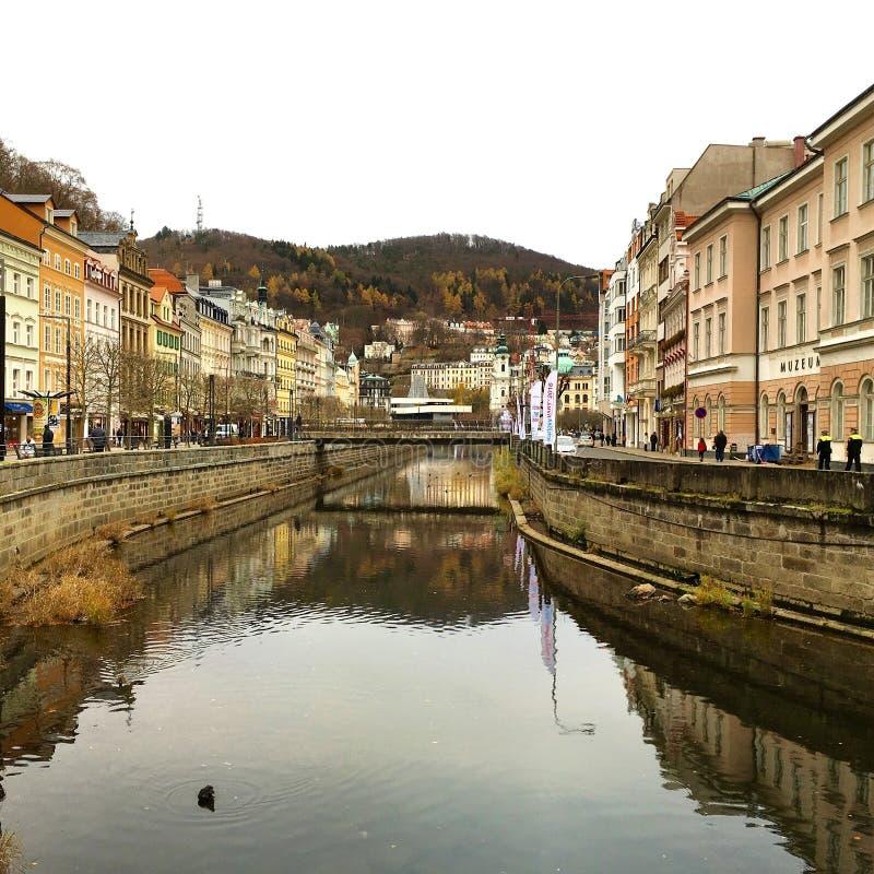 Karlovy unterscheiden sich lizenzfreies stockfoto