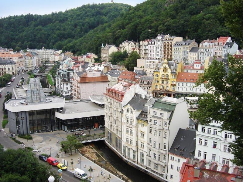 Karlovy varia immagini stock libere da diritti