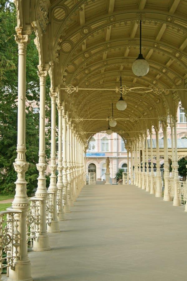 Karlovy varia a república checa foto de stock