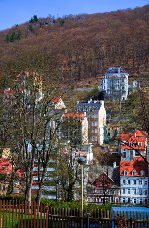 Download Karlovy Vary stock image. Image of destination, karlsbad - 12166447