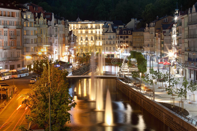 Karlovy Vary royalty free stock photo
