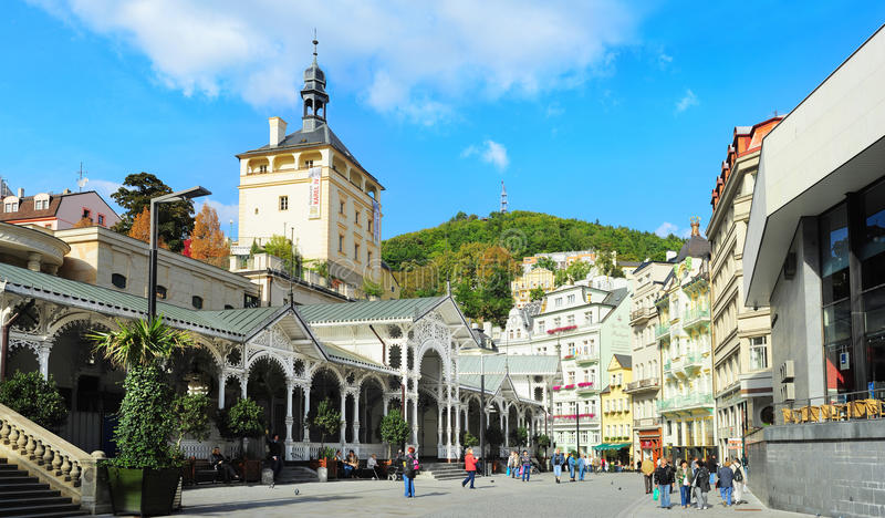 Karlovy Vary royalty free stock photography