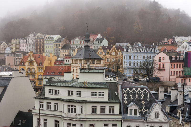 Download Karlovy Vary Cityscape Royalty Free Stock Image - Image: 28829496