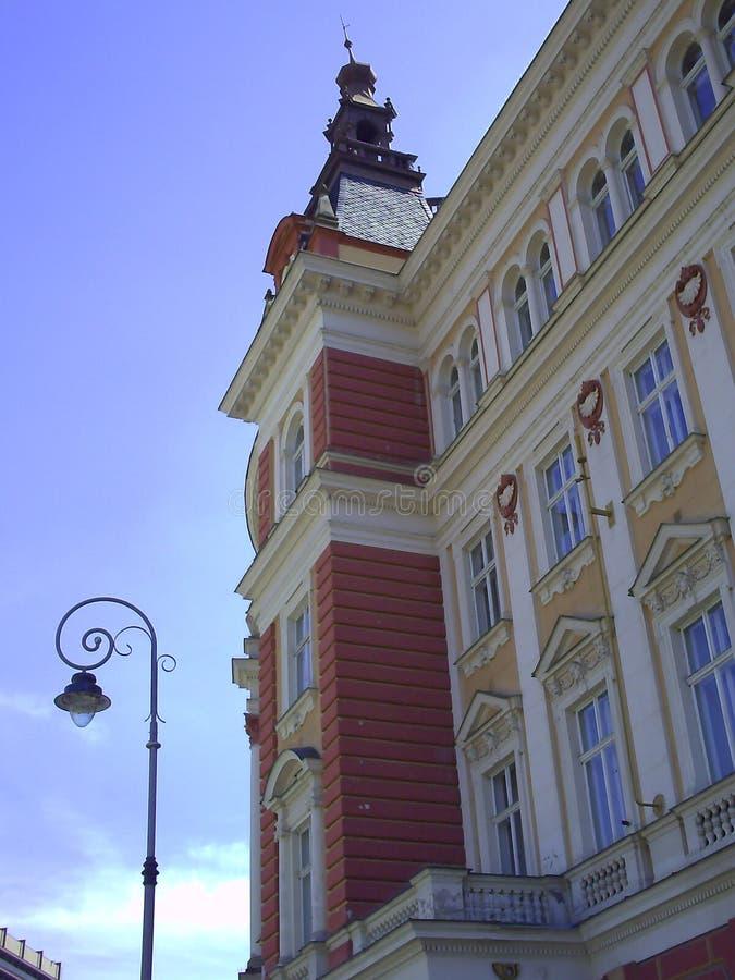 Karlovy Vary et x28 ; Carlsbad& x29 ; est la ville de station thermale la plus visitée dans la République Tchèque photos libres de droits