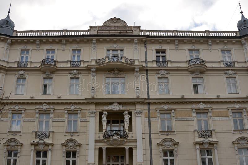 Karlovy Vary Grandhotel Pupp royalty free stock photos