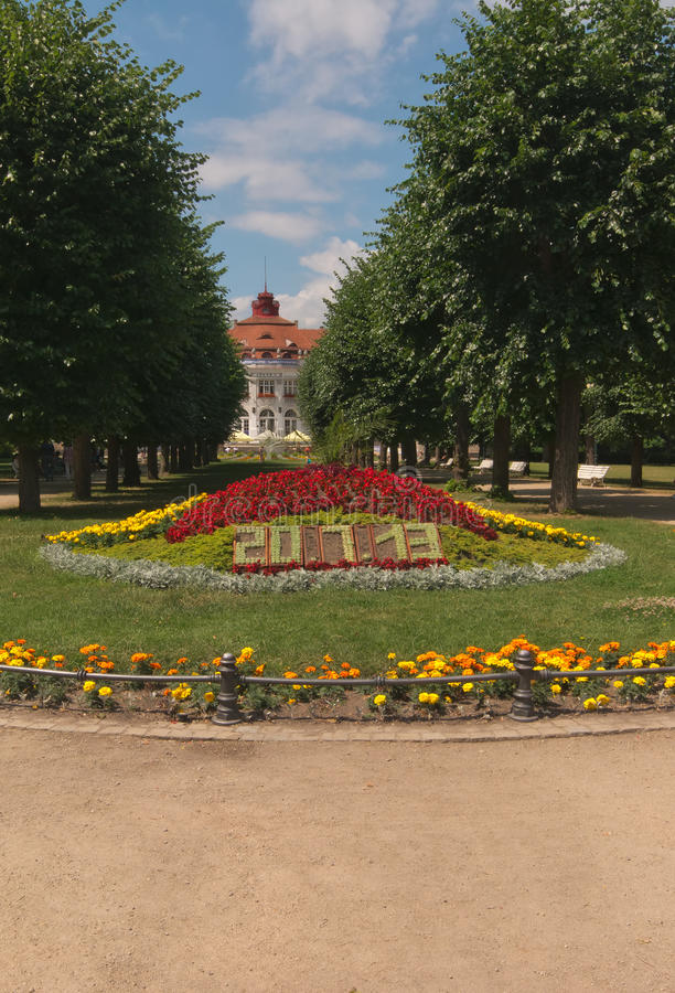 Download Karlovy Vary, park stock image. Image of date, spring - 32691989