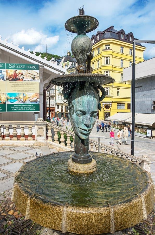 Karlovy Zmienia Karlsbad zdjęcie royalty free