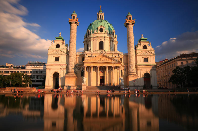 Download Karls Church, Vienna editorial image. Image of capital - 21069995