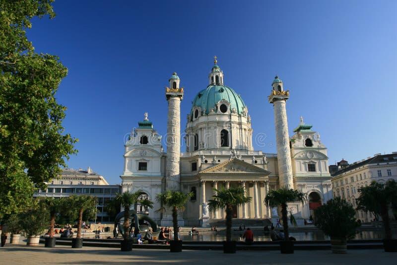 Download Karlskirche immagine stock. Immagine di vienna, moses - 3885739