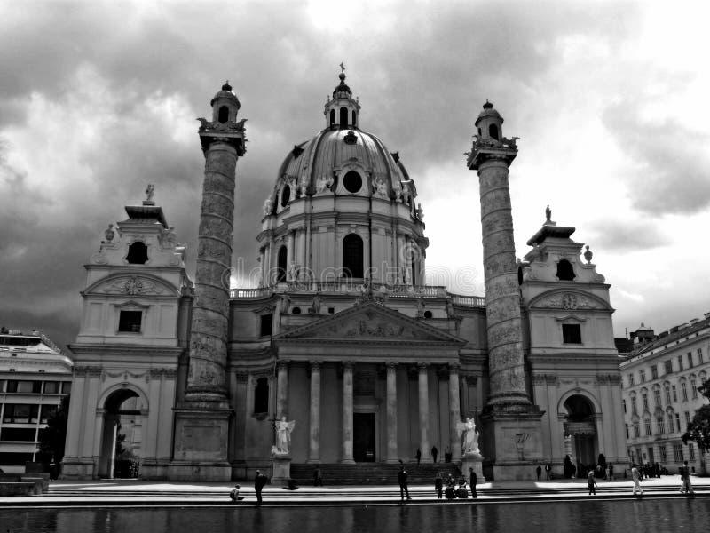 Karlskirche 免版税图库摄影