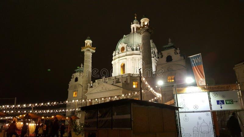 Karlskirche zdjęcia stock